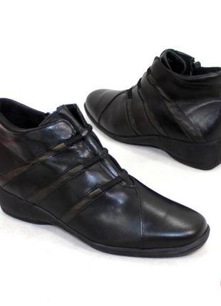 Ботинки 37 р натуральная кожа демисезон