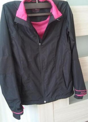 Спортивная куртка для бега ветровка плащевка