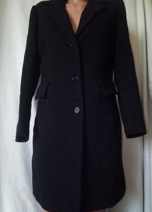 Зимнее пальто шерсть+кашемир не кошлатится качество люкс