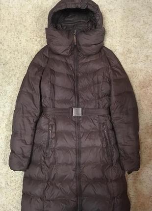 Пуховое пальто benetton