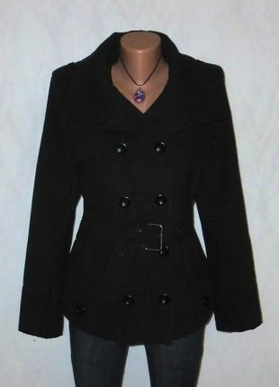 Роскошное пальто от jennifer taylor идеально для базового гардероба размер: 48-l