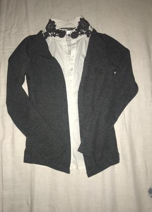 Шикарная школьная рубашка