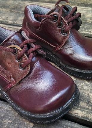Детские туфли натуральная кожа