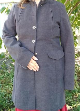 Пальто. h&m. для высоких. демисезонное.