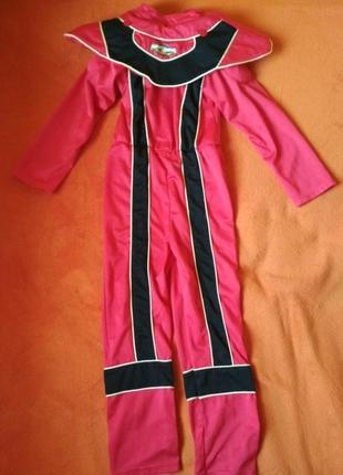 Новорічний костюм power rangers 7-8 років 127см. marks&spencer