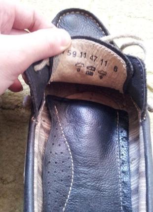 Camel active кожаные туфли лоферы 38,5 - 392 фото