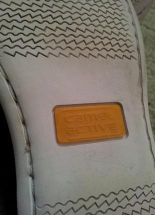 Camel active кожаные туфли лоферы 38,5 - 395 фото