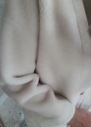 Натуральный мех овчина оверсайз woolmark шерсть 100%