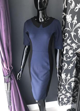 Платье футляр, трикотажное, мидии