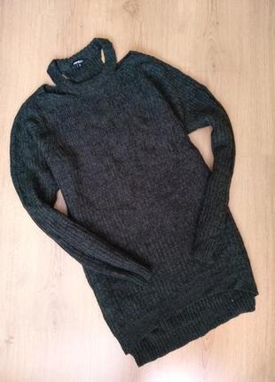 Удлиненный -свитер  от pep&co