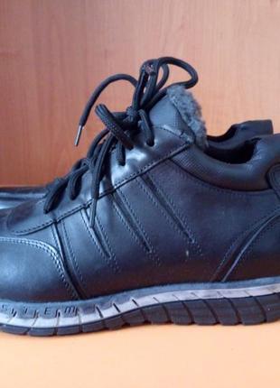 Зимние мужские ботинки, размер 40