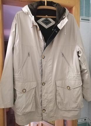 Супер теплая куртка с подстежкой и шикарным составом xl-3xl
