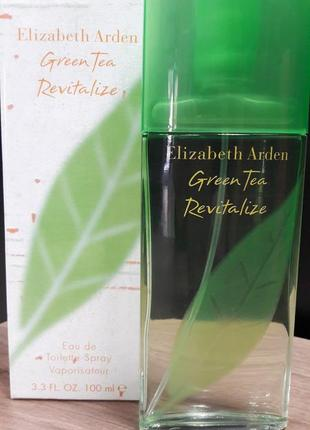 Парфюмированная вода elizabeth arden green tea revitalize 100ml