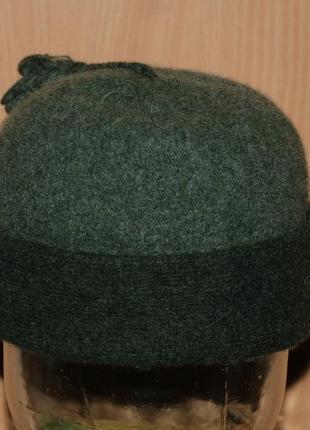 Шерстяная женская шапка от marks & spencer