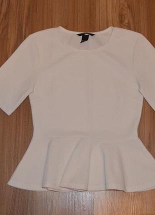 Блуза с браской h&m