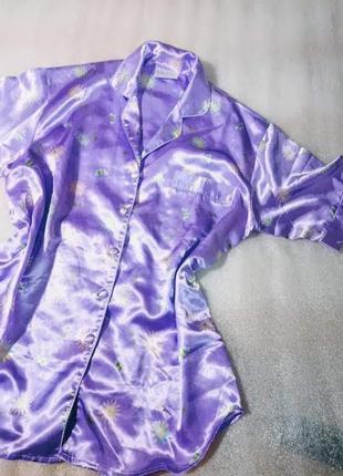 Рубашка-халат,размер м