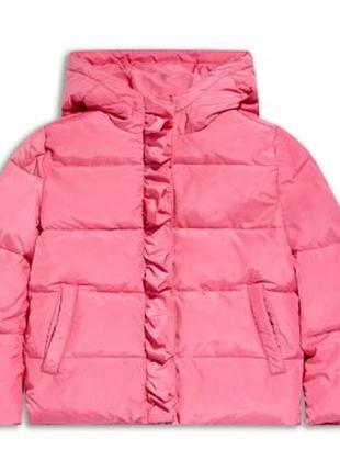 Размера 2,3,4,5 лет новая зимняя розовая куртка для девочки, sugar squad, 125009271