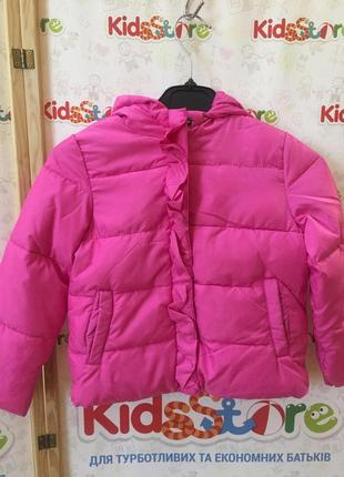 Размера 2,3,4,5 лет новая зимняя розовая куртка для девочки, sugar squad, 125009274