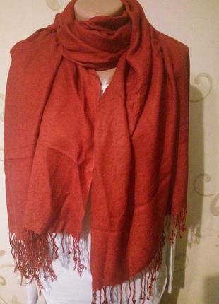 Красивый шарф палантин платок шаль . 100% вискоза