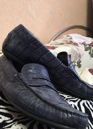 Итальянские туфли santoni