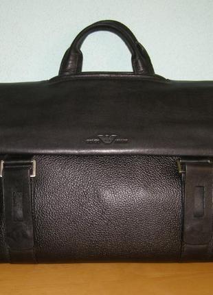 Статусный портфель giorgio armani
