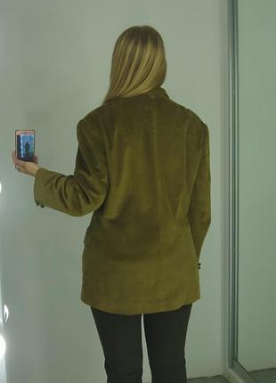 Актуальный вельветовый пиджак5