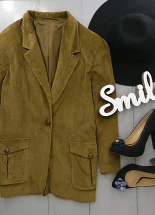 Актуальный вельветовый пиджак