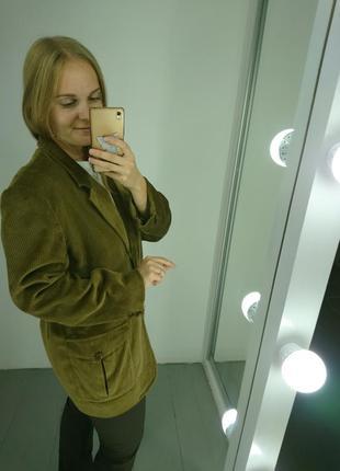 Актуальный вельветовый пиджак4