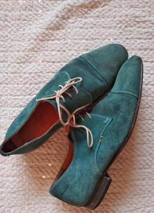 Натуральна шкіра+замша.мега взуття