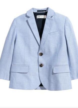 Піджак на хлопчика h&m ,пиджак на мальчика h&m