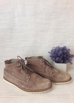 Стильные мужские ботинки lacoste