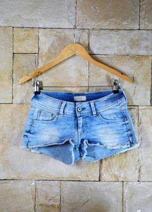 Акция 1+1=3! короткие шорты джинсовые pepe jeans