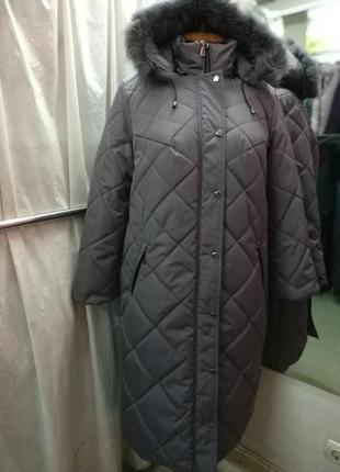 Зимнее пальто/ куртка размеры от 48до 64