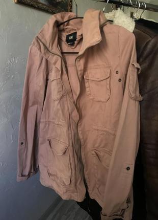Куртка джинсовая hm