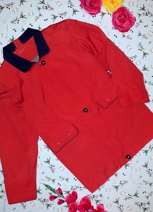 Красная куртка парка berkertex, размер 52-54, большой размер