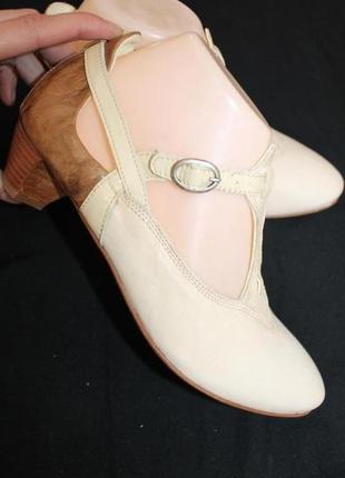 37 разм. испанские босоножки - туфли think. кожа высокого качества