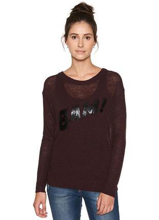 Льняной свитер джемпер tom tailor eur xl