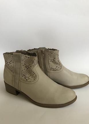 Фирменные ботинки кожа roberto santi