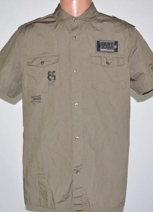 Рубашка в стиле милитари dkny jeans (m-l)