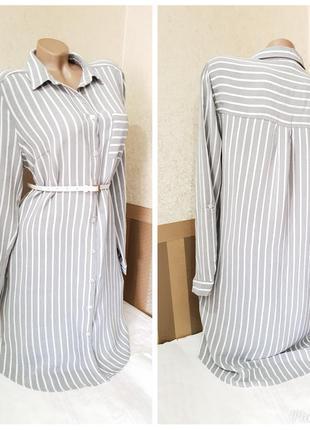 Платье рубашка f&f.