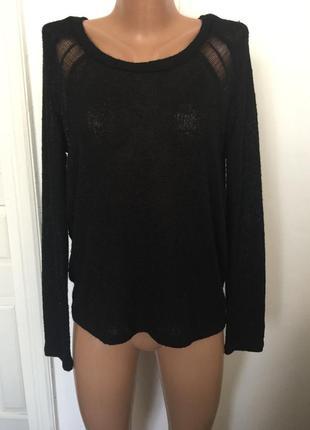 Черний свитер h&m