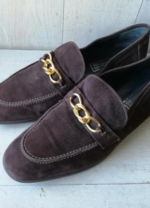 Buffalo замшевые туфли, лоферы ручная работа
