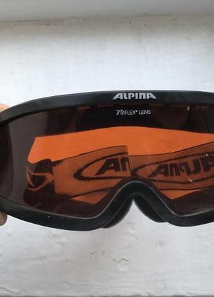 Alpina triflex lens горнолыжная маска очки