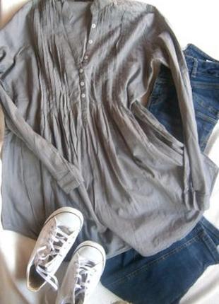 Легкая катоновая блуза  размер 46-48