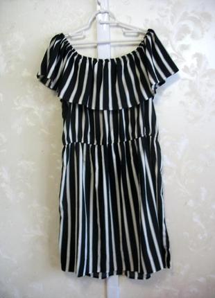 Платье со спущенными плечами boohoo большой размер
