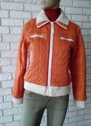 Актуальная зимняя брендовая курточка     м      fishbone