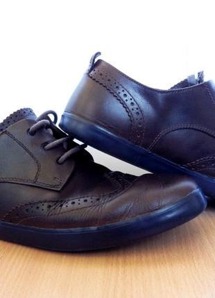 Туфли броги кожаные camper