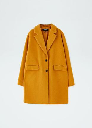 Суперское пальто из сукна pull&bear