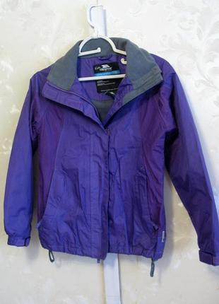 Детская демисезонная  куртка trespass  waterproof 9-10 лет