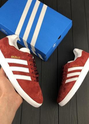 Красные замшевые кроссовки, кеды 36, 37, 38, 39, 40 рр